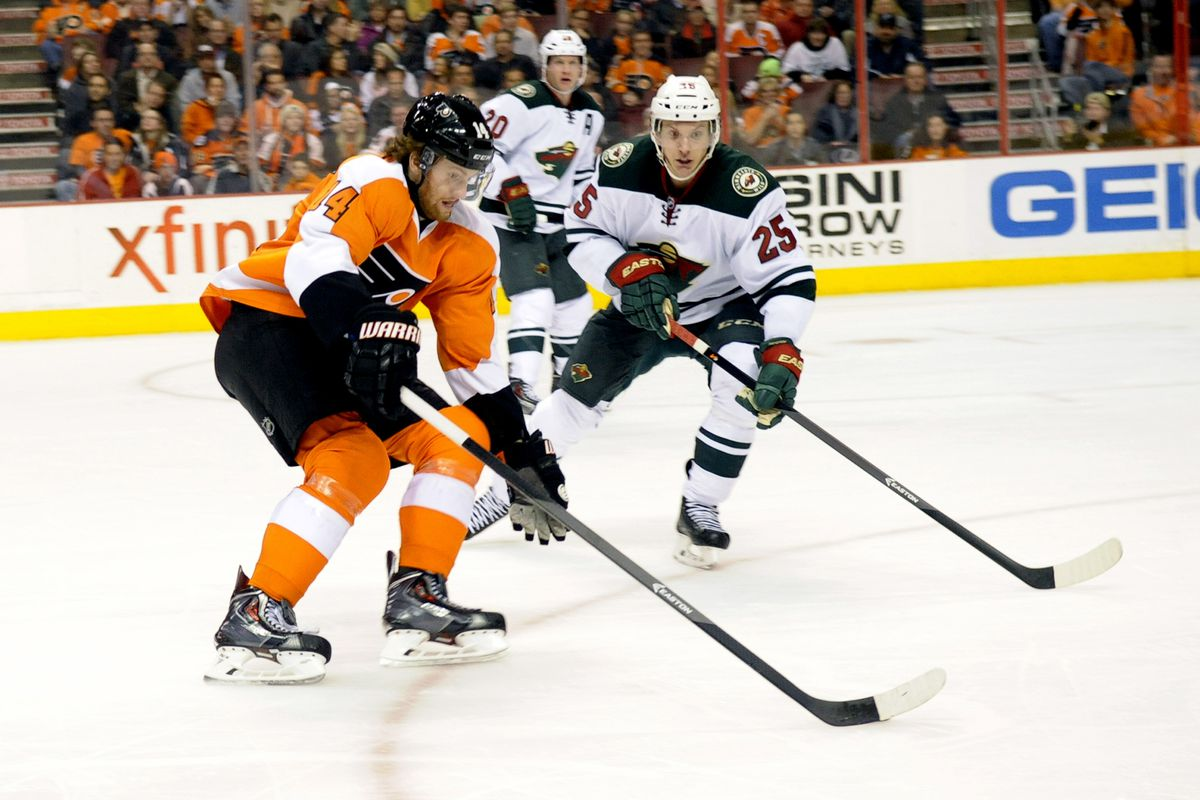 Jonas Brodin won't play against the Flyers tonight. Can the Wild still come away victorious?