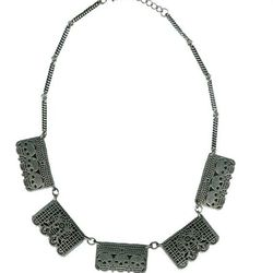 Pamela Love Day of the Dead silver necklace (was $120, now $60)