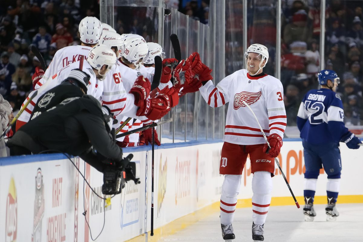 Mantha for Hart: Red Wings 4, Leafs 5 (OT) - Winging It In