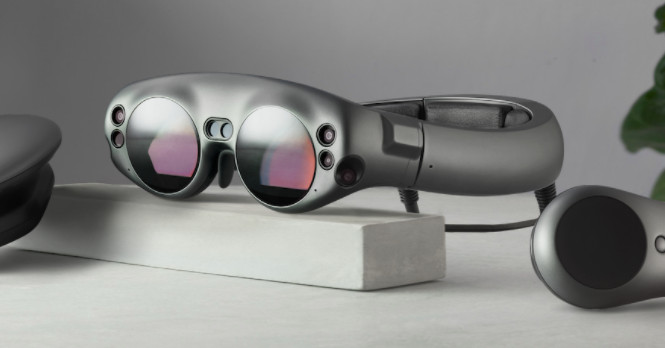 photo image Magic Leap is partnering with the NBA to bring virtual basketball games to its goggles