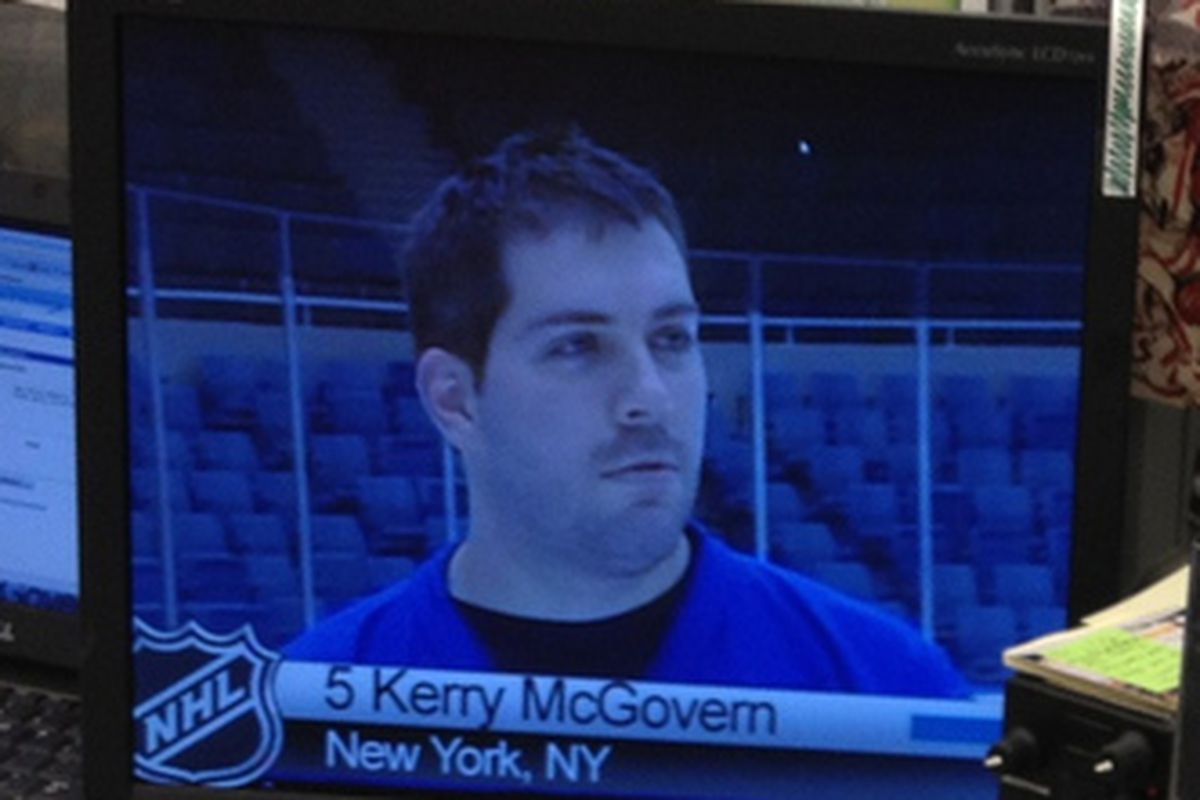Or McGovern, whatever
