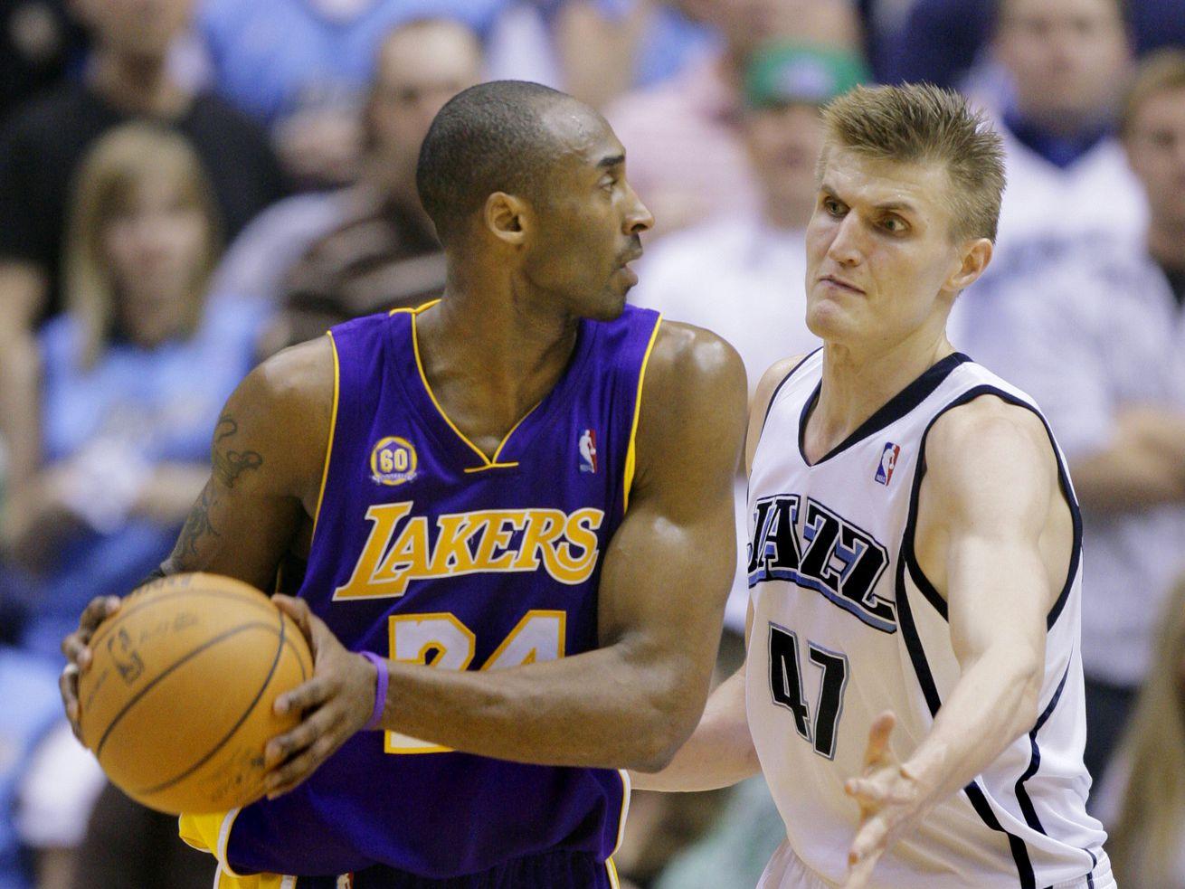 Kobe had many memorable moments against the Jazz