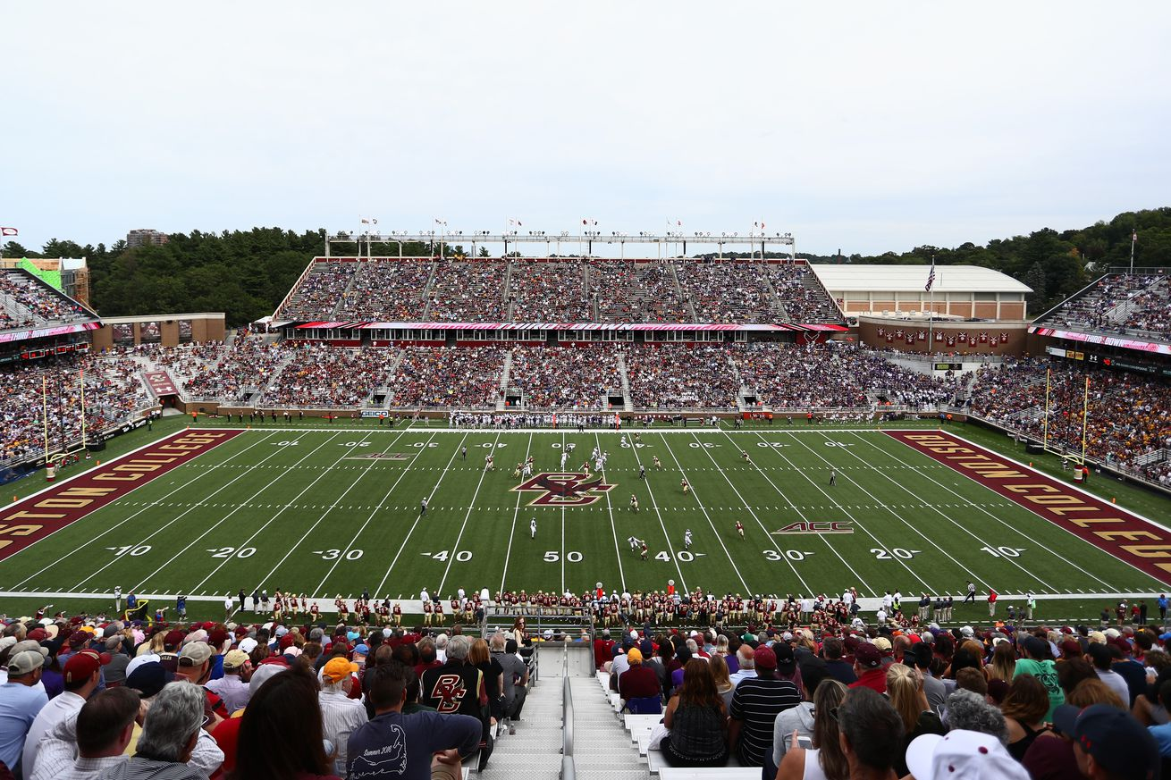 Game Day: Louisville At Boston College