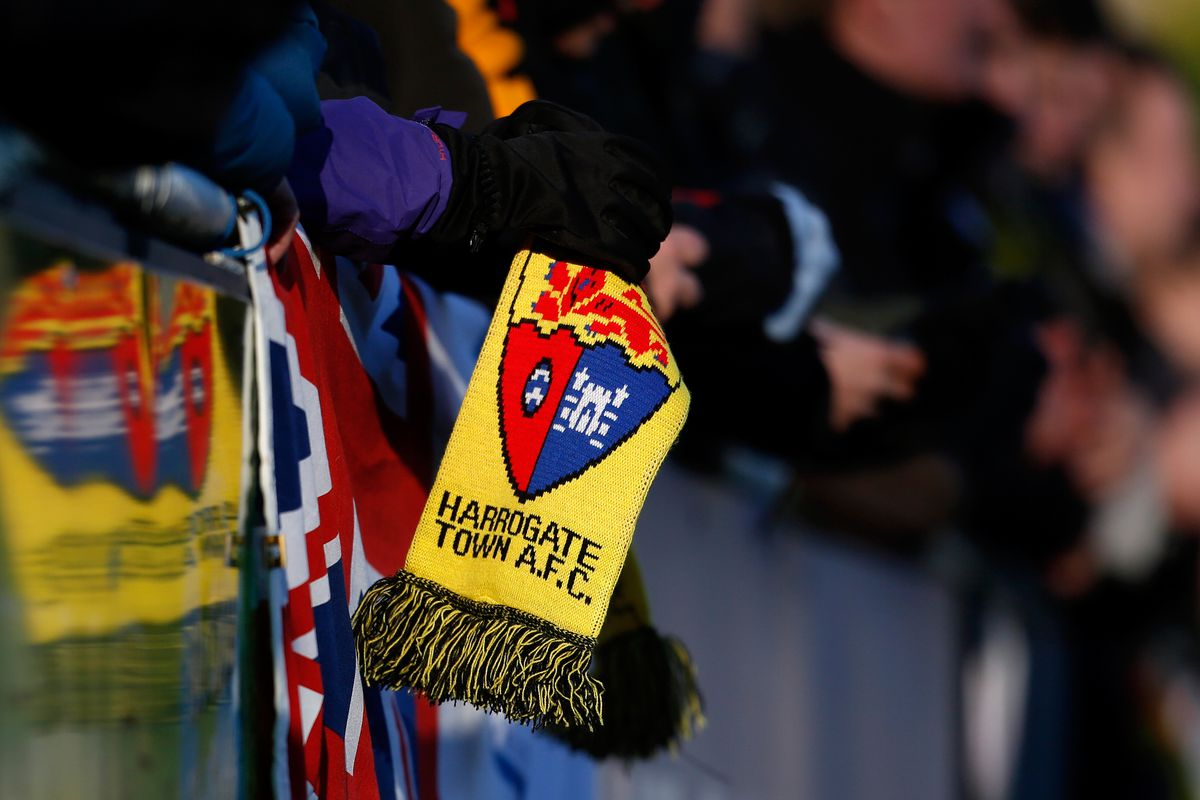 Harrogate Town v Hastings United - FA Cup Second Round