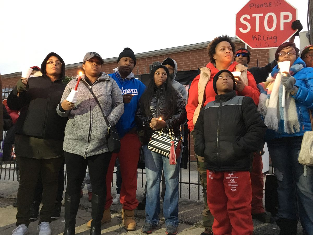 Friends and relatives gathered for a vigil and balloon release at 65th and Ashland, near the site where Kajuan was shot and killed by Chicago police on Wednesday. The Cook County Medical Examiner's office announced Friday that the 19-year-old died from a