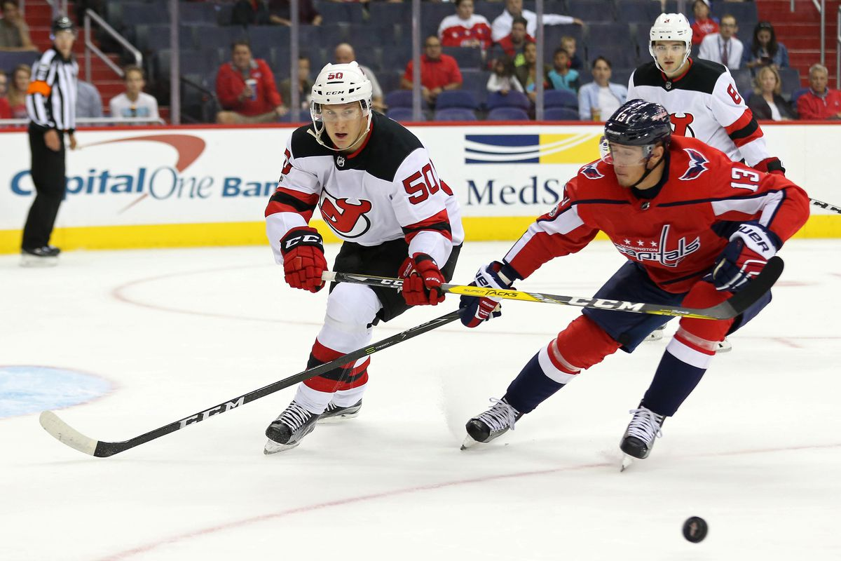 New jersey devils trade viktor loov to minnesota wild all about geoff burke usa today sports publicscrutiny Choice Image