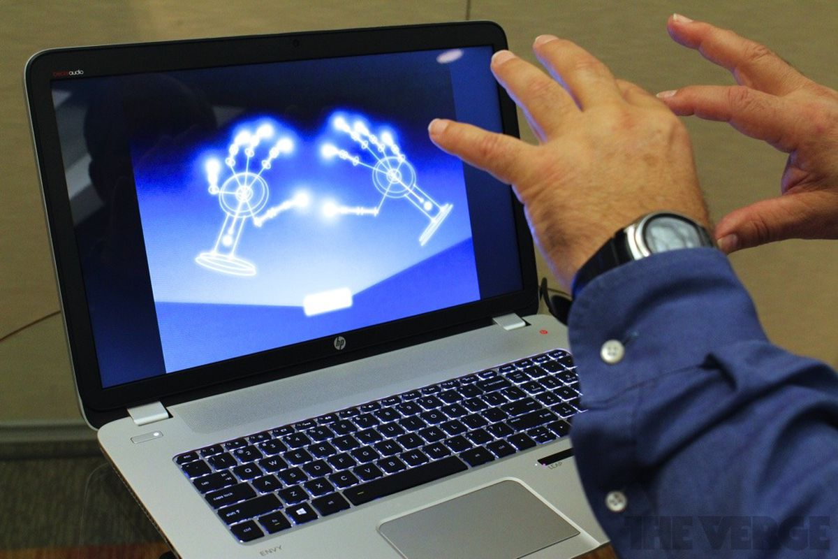 Gallery Photo: HP Envy 17 Leap Motion SE Touchsmart hands-on pictures