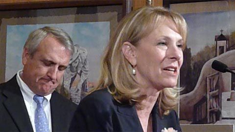 Gov. Bill Ritter and Lt. Gov. Barbara O'Brien weren't at all happy with the way the state's Race to the Top Application was judged, and they said so at a news conference Tuesday.