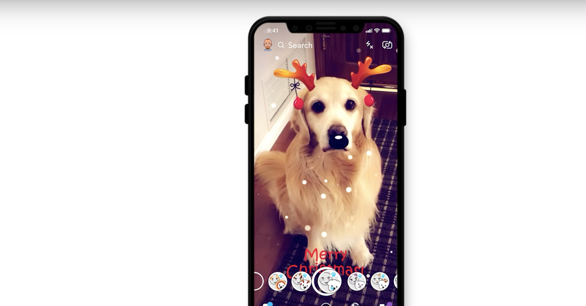 Snapchat Goes Full Circle, Adds Lenses for Dogs