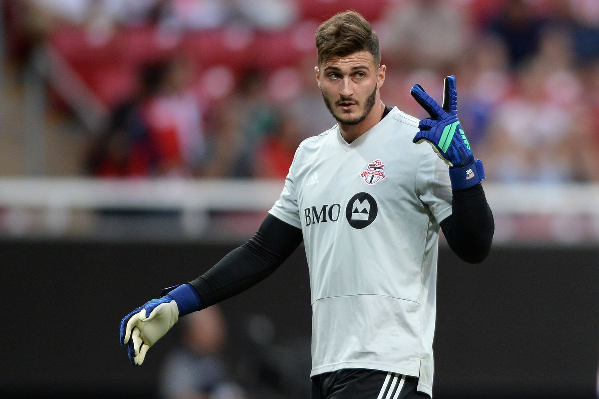 42e927701ca Reading United alum Alex Bono continues to impress with Toronto FC ...