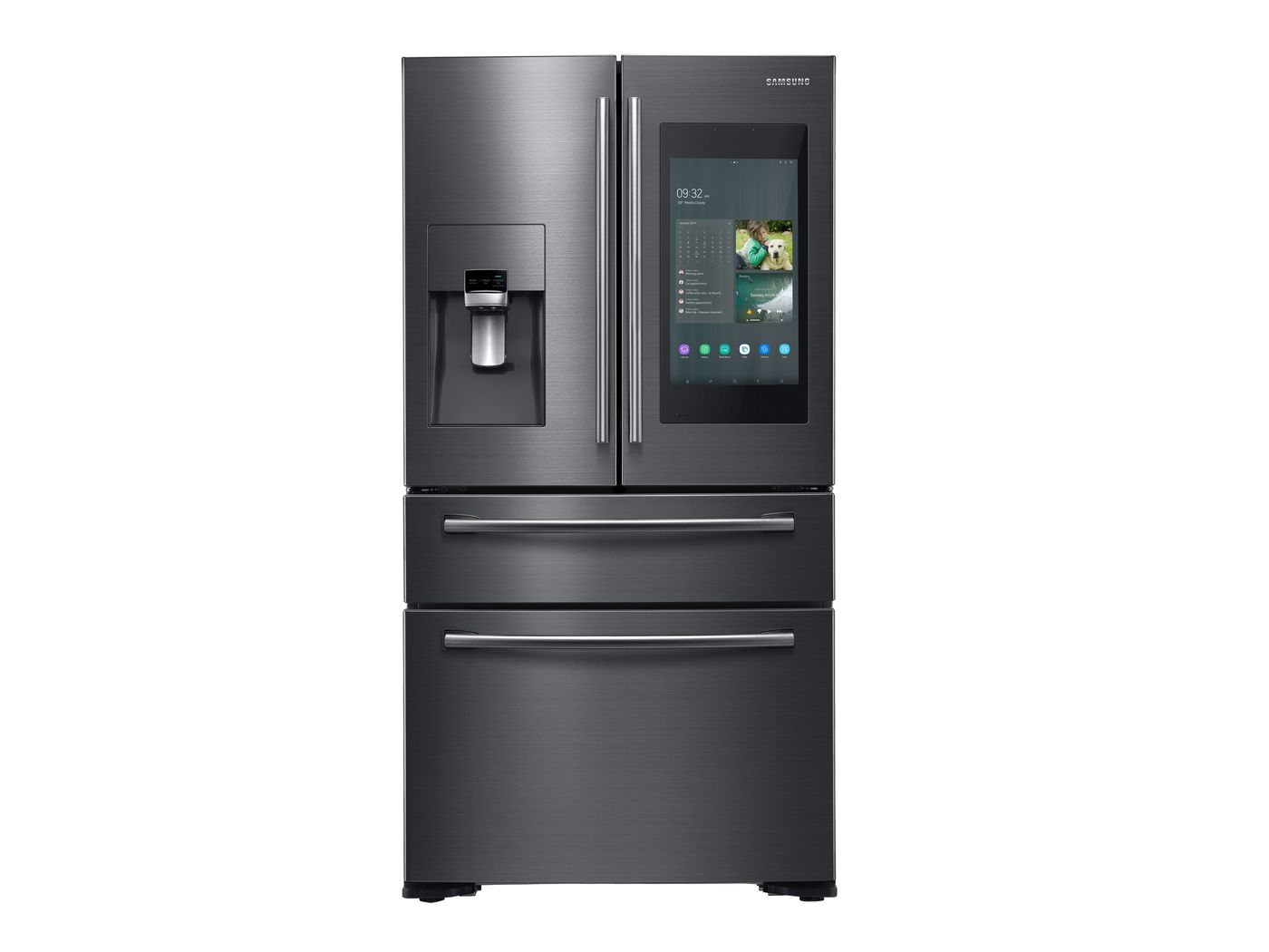Samsung S New Fridge Will Ping Your Phone If You Leave The Door Open The Verge