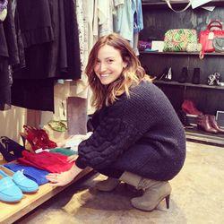 Closet Rich's adorable founder, Elizabeth Kott.