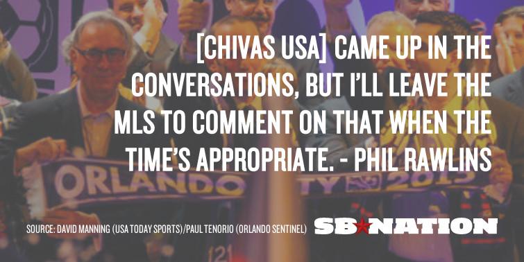 Rawlins Chivas USA future