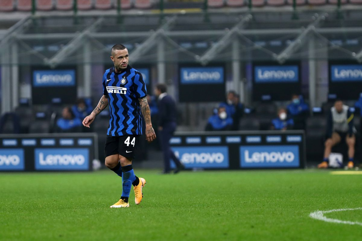 Radja Nainggolan of FC Internazionale during The Serie A...