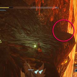 Lava Caverns rampage message 10