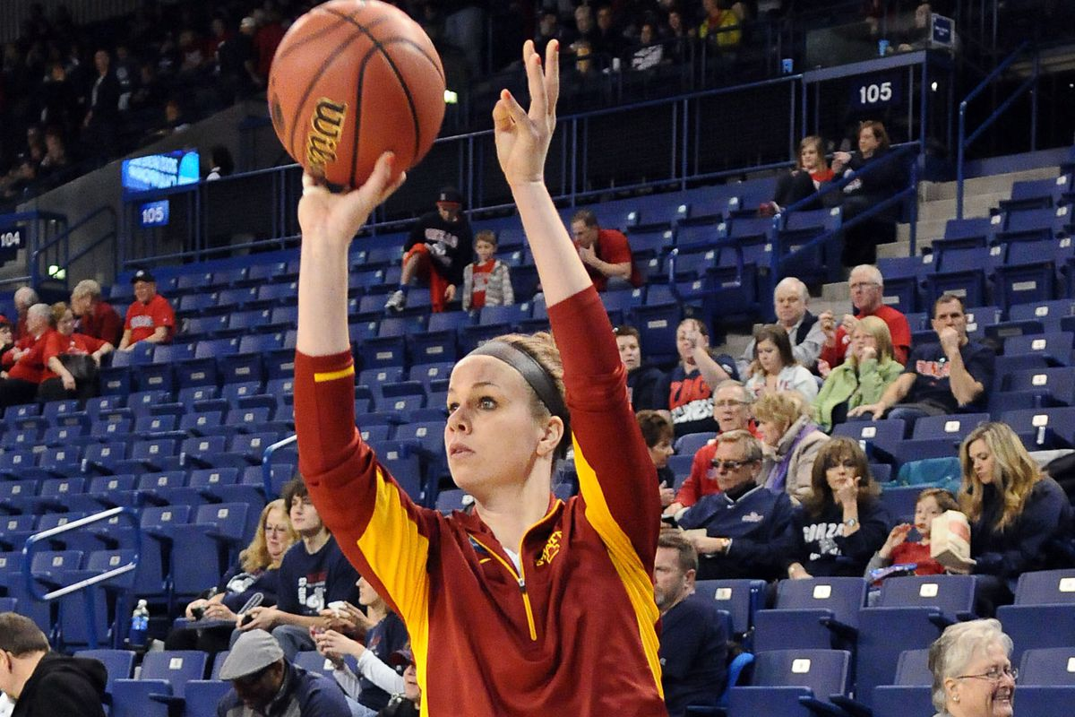 Senior Hallie Christofferson is second in the nation in scoring with 28.5 points per game.