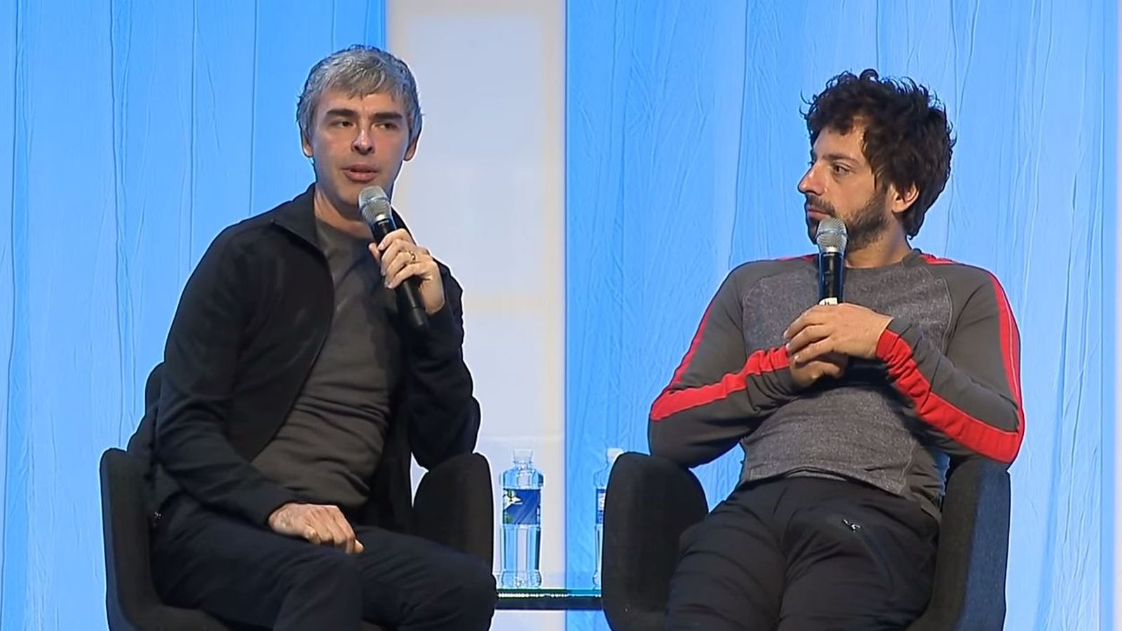 Larry Page and Sergey Brin on what's next for Google - The ...