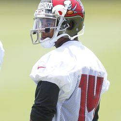 Robert Herron, the Bucs' sixth-round pick, saw extensive work as a punt returner in mini-camp.