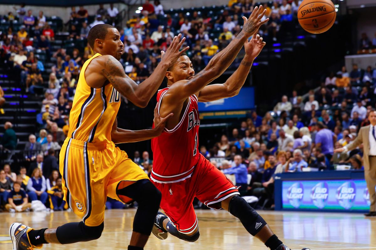 94021212e95f Derrick Rose says Pacers and Bulls aren t rivals