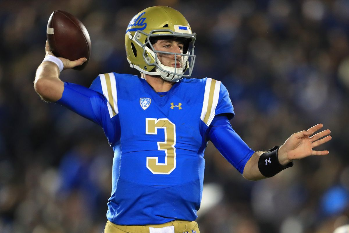 Why not Josh Rosen  The reasons remain the same — personality ... 43622ee3d64