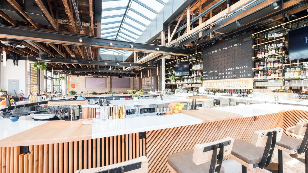 Step Into Little Italy S Soaring New Beer Hall Eater San