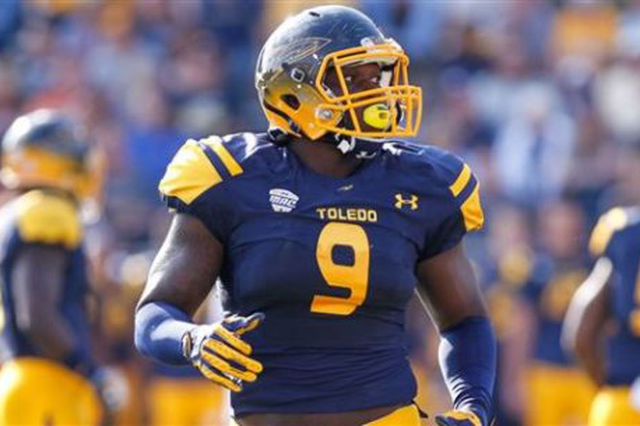Ola Adeniyi has the makings of an impact player for the Steelers