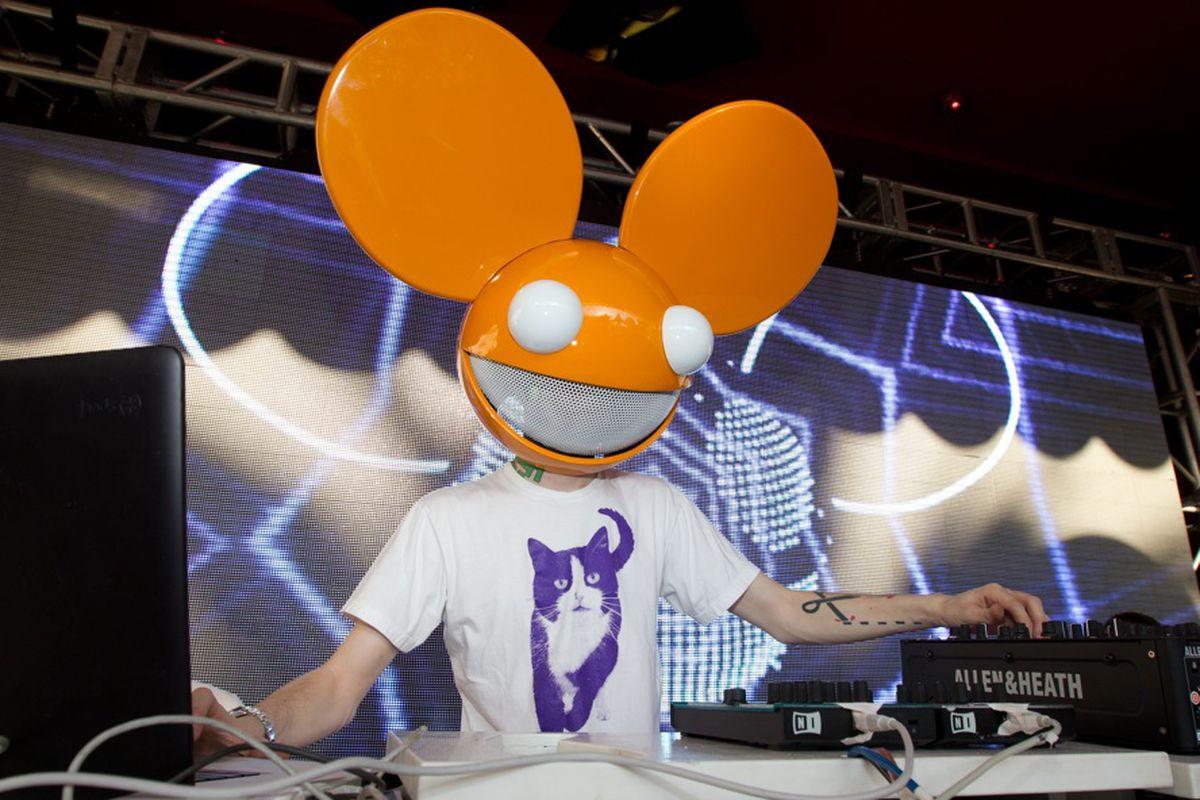 Deadmau5 at Encore Beach Club last Memorial Day weekend