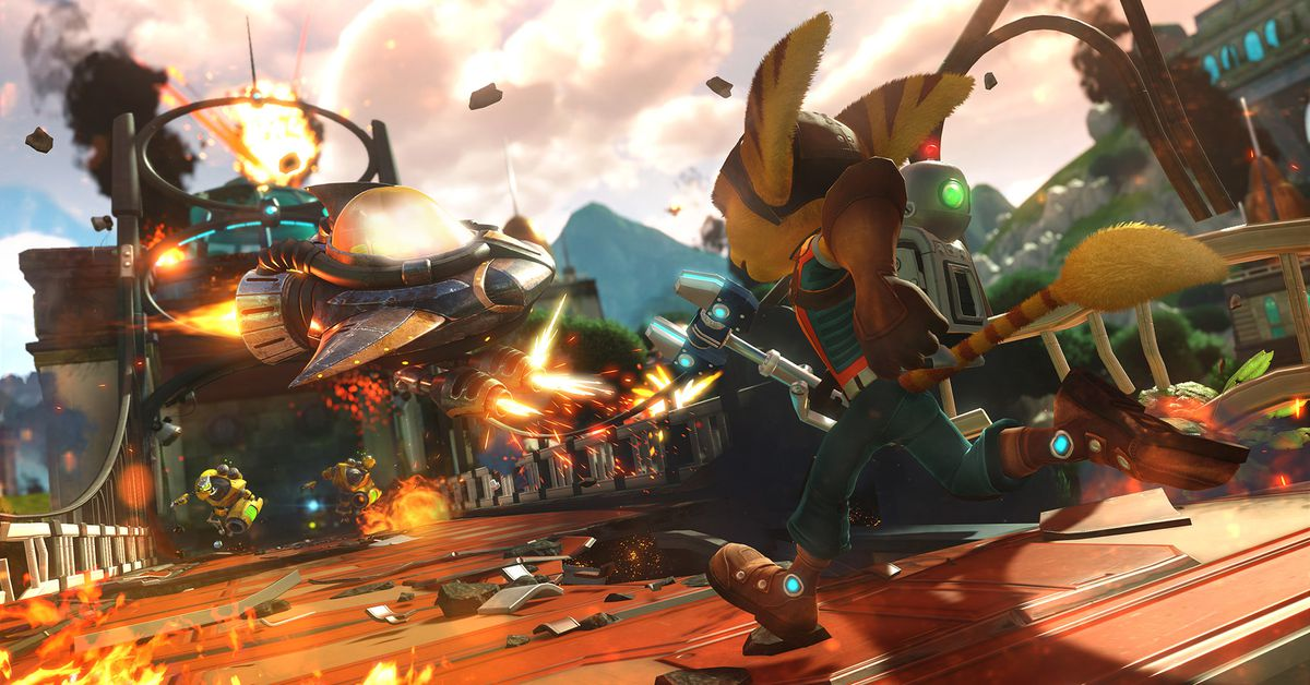 Ratchet and Clank is now free on PS4 and PS5 - The Verge