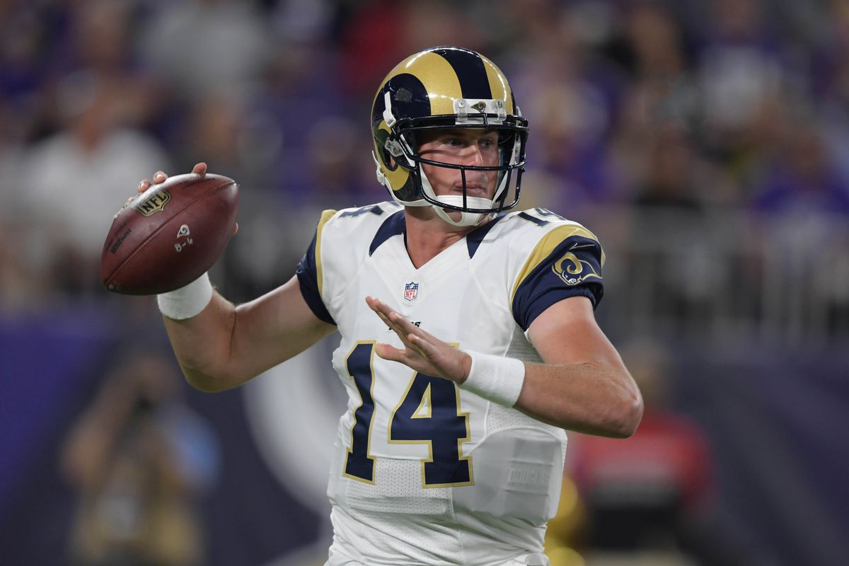 Report La Rams Prepared To Start Sean Mannion If Jared