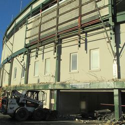 3:31 p.m. One final view of the front of the ballpark -