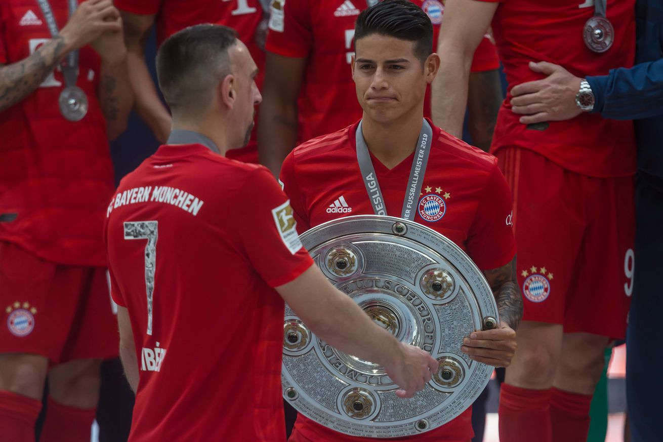 """Daily Schmankerl: Bayern Munich?s James Rodriguez decides on future; Arjen Robben to Leicester City (!""""); Ilkay Gundogan wants Leroy Sane to stay with Manchester City; & MORE!"""