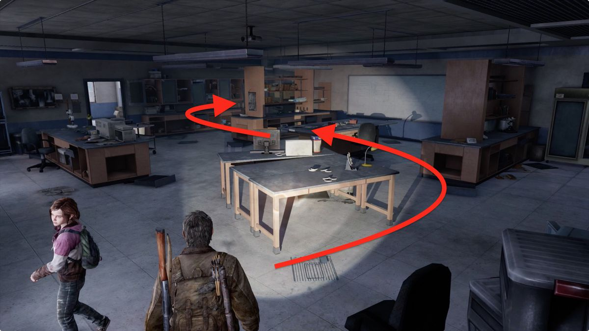 The Last of Us 'The University' collectibles locations guide