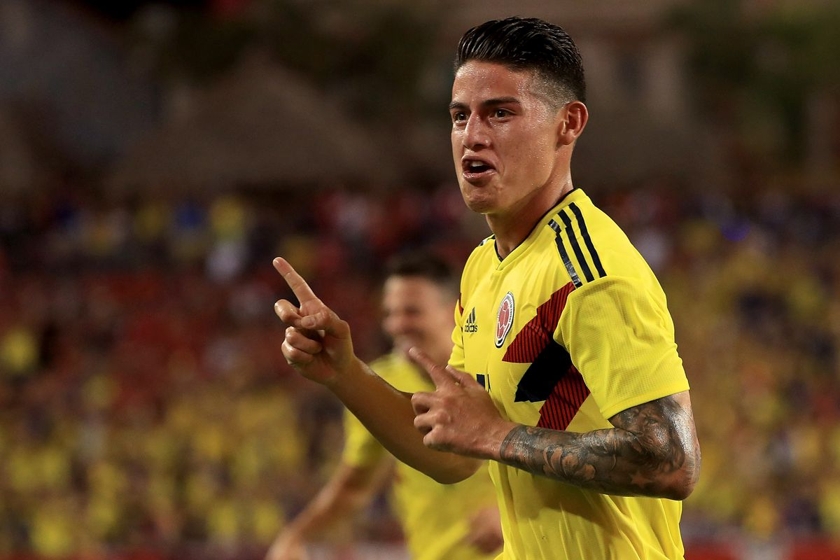 James Rodriguez Dazzles With Spectacular Goal In Colombia Vs Us Men S National Team