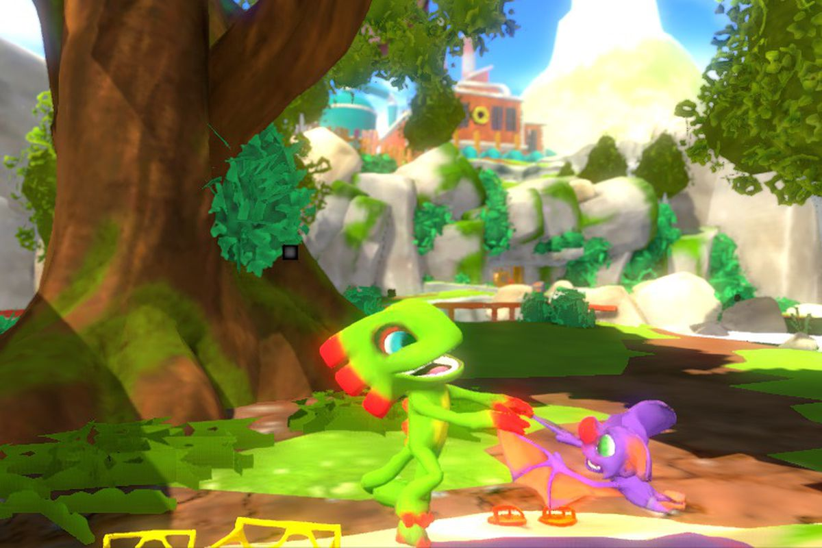 yooka laylee developer shows progress on making the game look worse