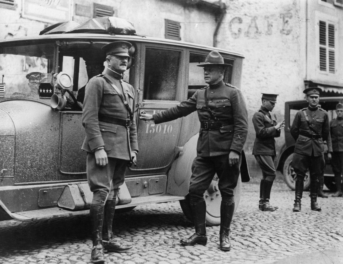Generals Pershing & Menoher