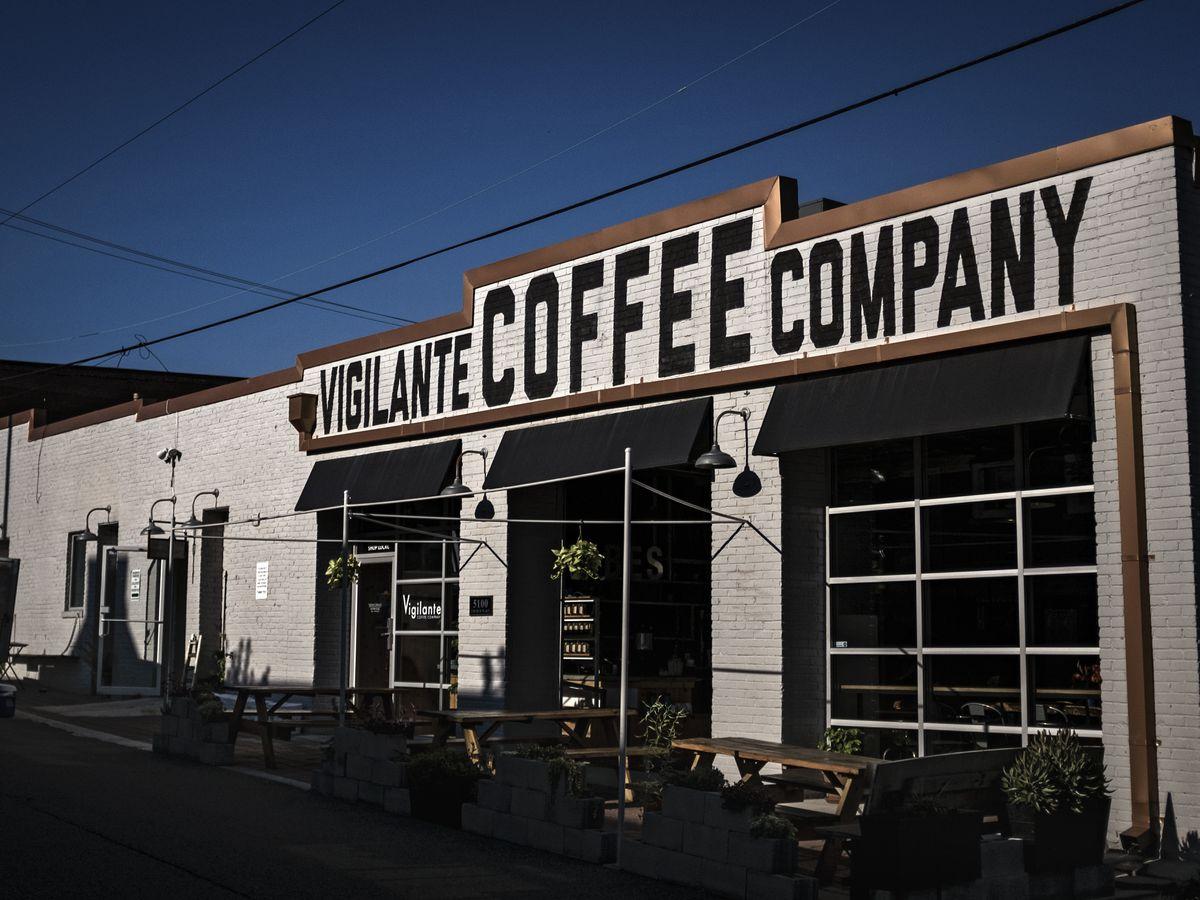 Vigilante Coffee Company in Hyattsville, Maryland...