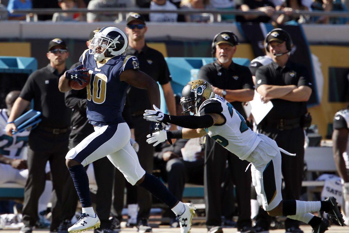 Los Angeles Rams WR Pharoh Cooper