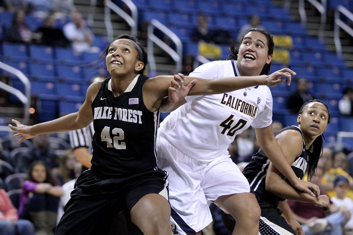 Justine Hartman came up big for Cal against Wake Forest.
