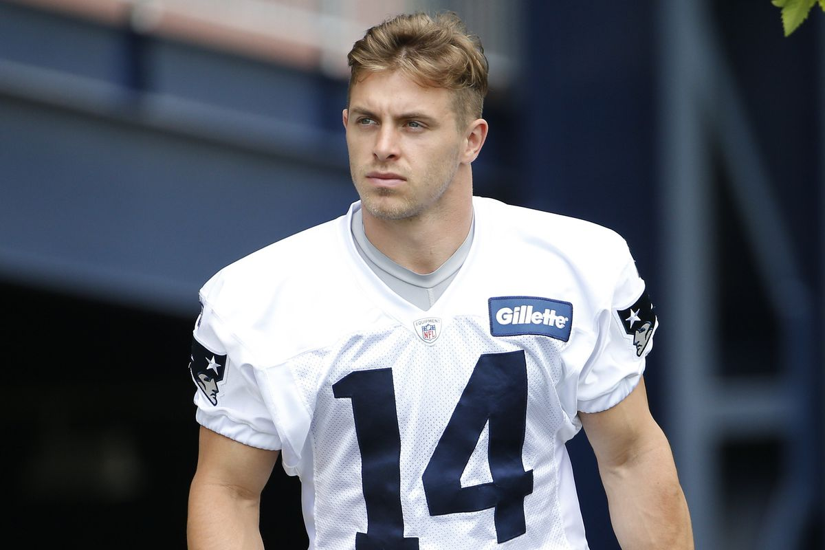 best sneakers 1c2cd adced Braxton Berrios is an intriguing member of the Patriots ...