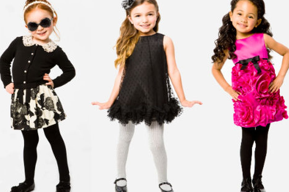 """Three looks from the fall <a href=""""http://www.millyny.com/Shop/Milly-Minis/"""">Milly Minis collection</a>"""