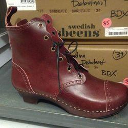 Swedish Hasbeens boot, $50 (were $288)