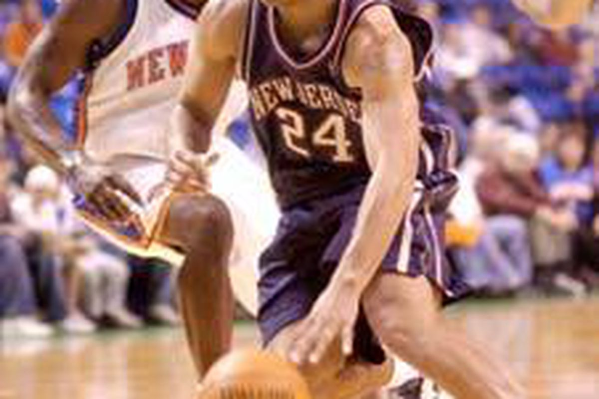 The New Jersey Nets gave Richard Jefferson a long-term contract in hopes he'd be their long-term go-to guy.