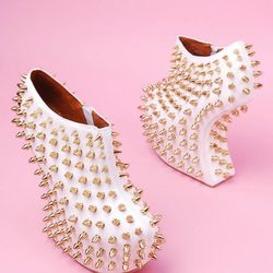 Jeffrey Campbell isn't one to shy away from bold shoe designs, but the Shadow Studs are even wilder than some of his signature designs. $83.53