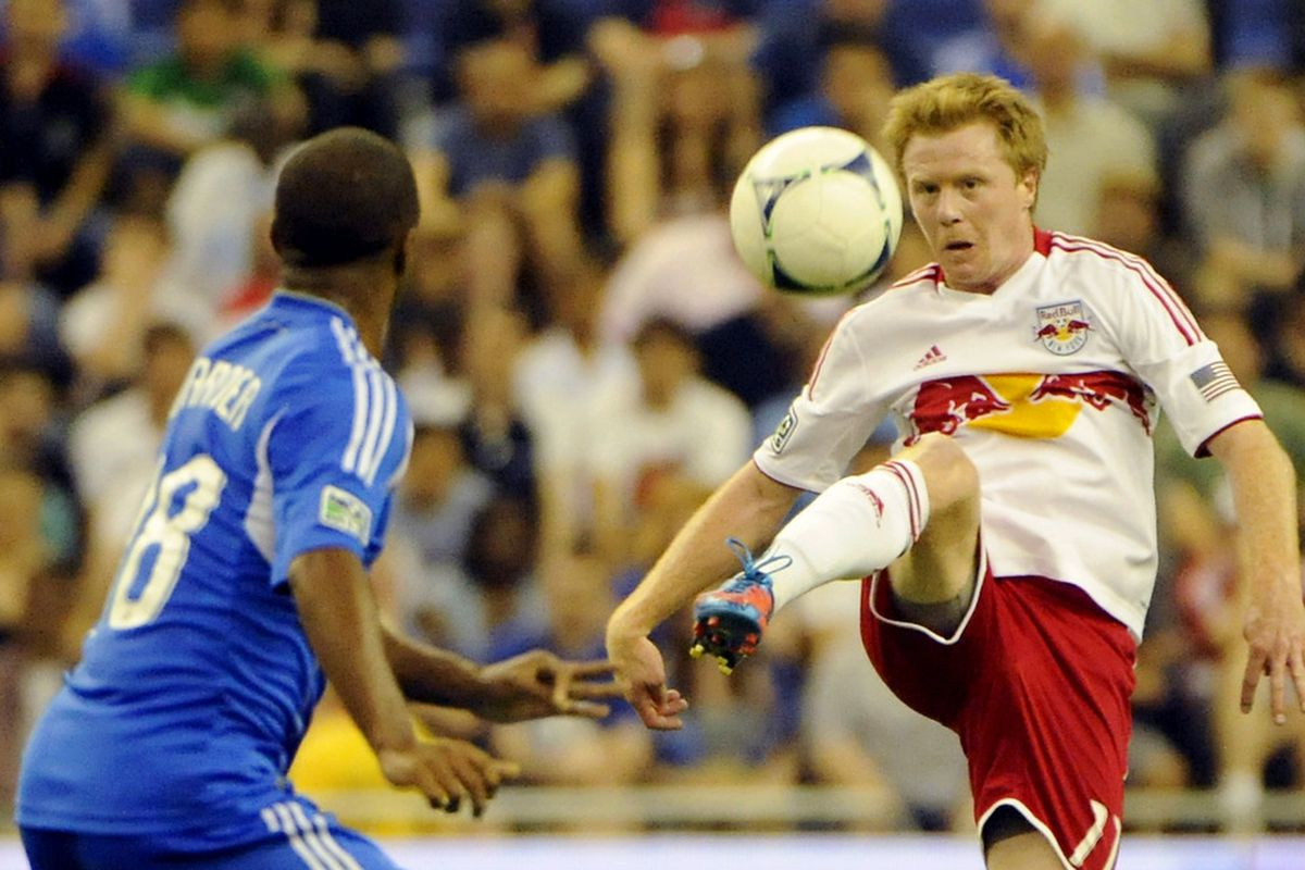 It may not always be the prettiest, but Dax McCarty's play in the midfield is a major reason for New York's current unbeaten streak, now at seven games. Eric Bolte-US PRESSWIRE