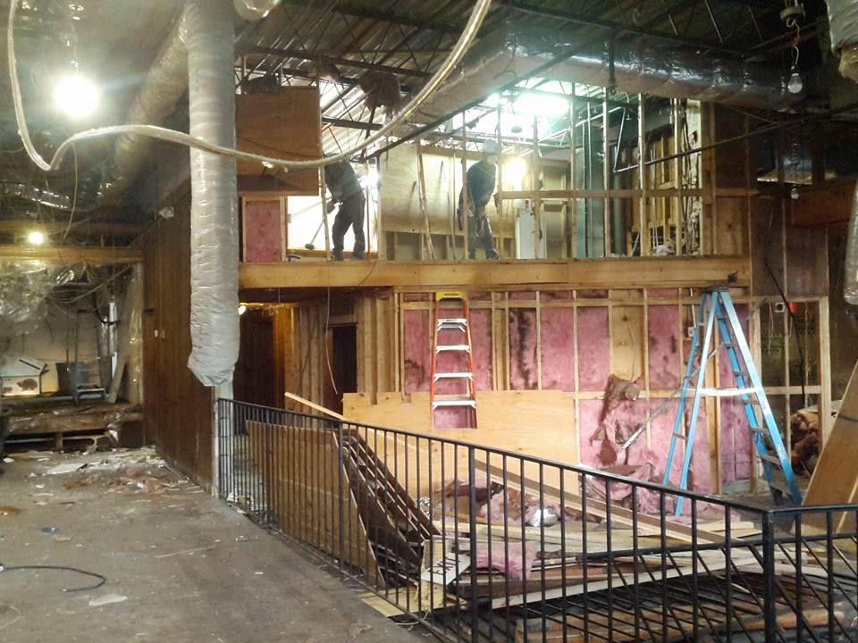 Manuel's Tavern renovation 1