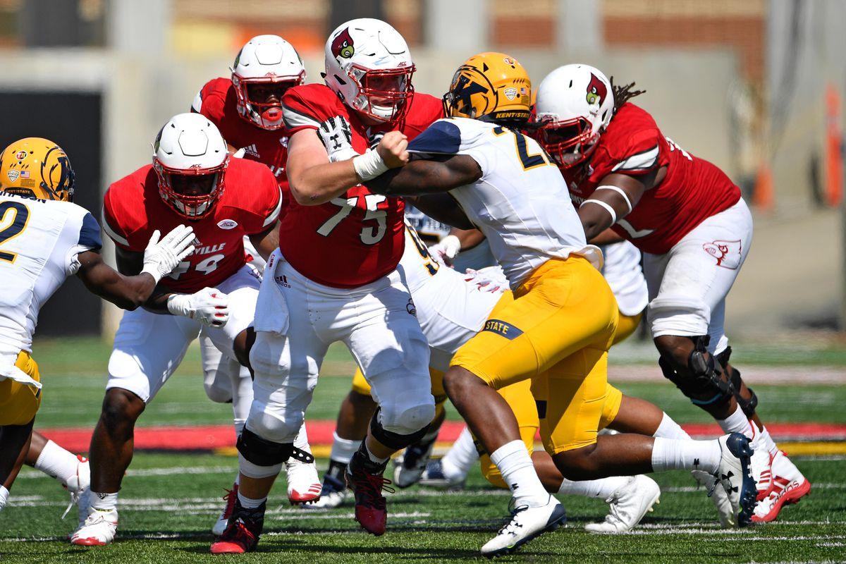NCAA Football: Kent State at Louisville