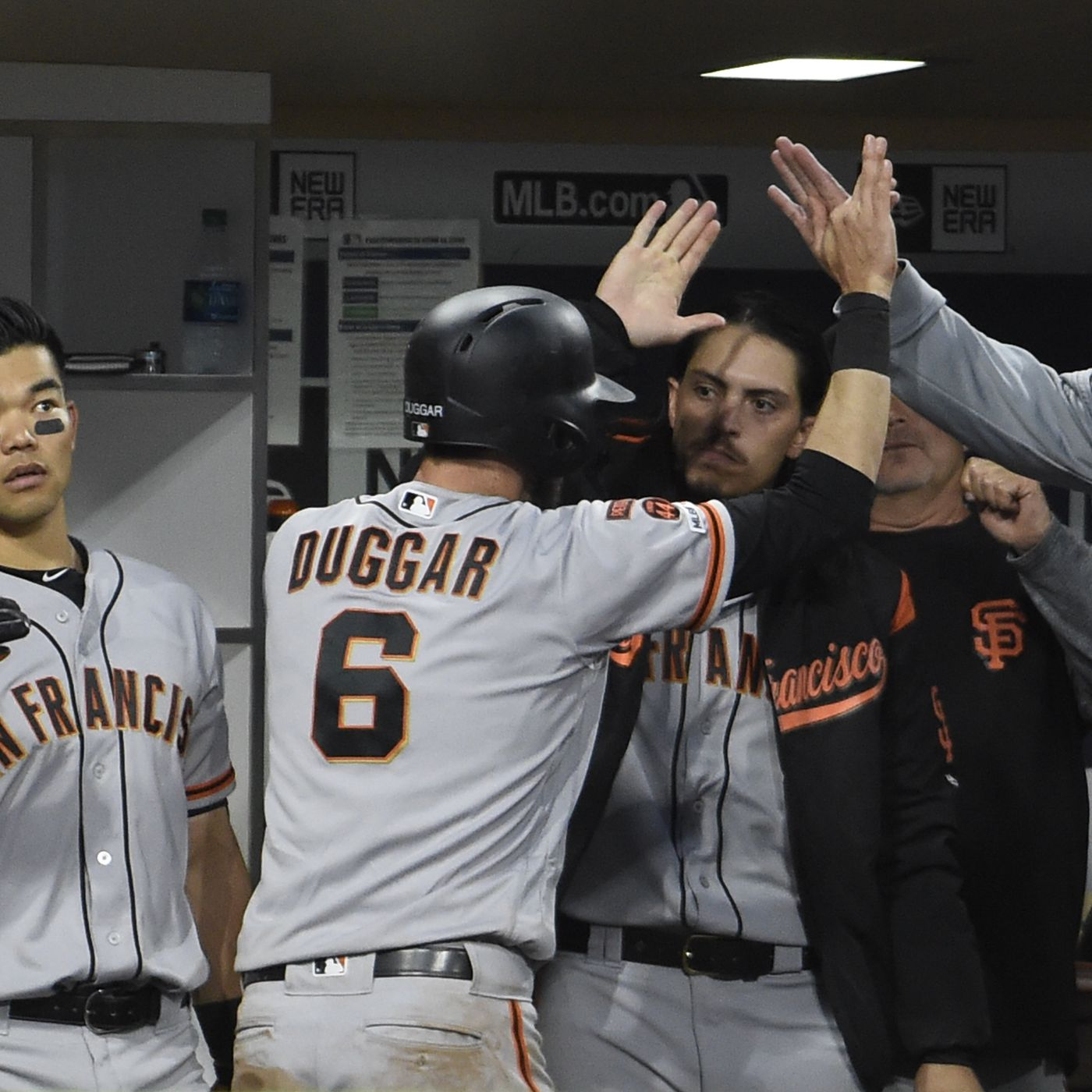 Final Score Giants Beat Padres 3 2 Win First Game Of The