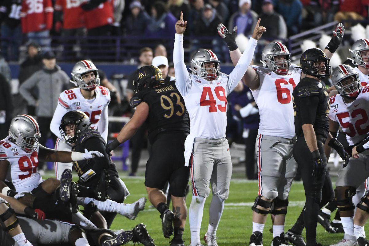 NCAA Football: Ohio State at Northwestern