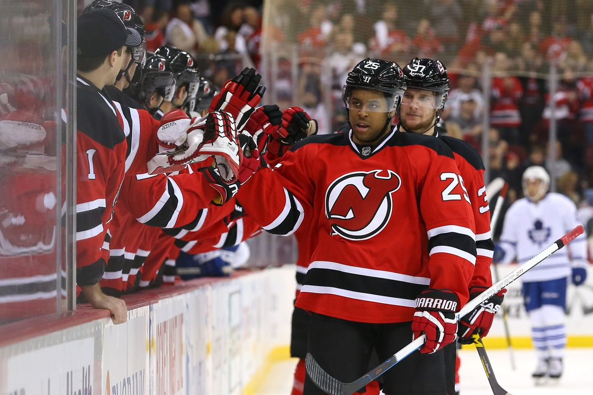 The Devils will begin the season at home October 18th against the Ducks.