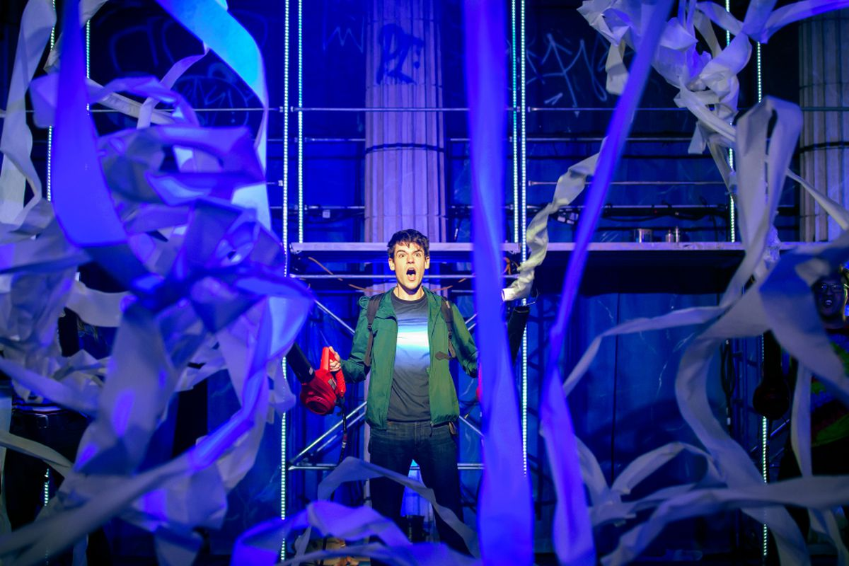 """Anel Rodriguez Wikipedia lightning thief: percy jackson musical"""" review: bad songs"""